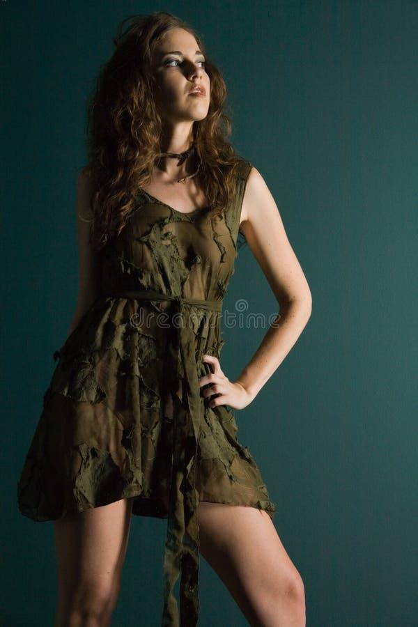 κορίτσι μόδας προκλητικό στοκ εικόνες με δικαίωμα ελεύθερης χρήσης