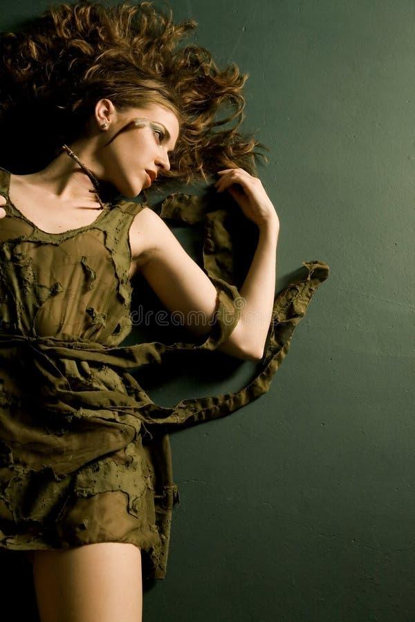κορίτσι μόδας προκλητικό στοκ φωτογραφία με δικαίωμα ελεύθερης χρήσης