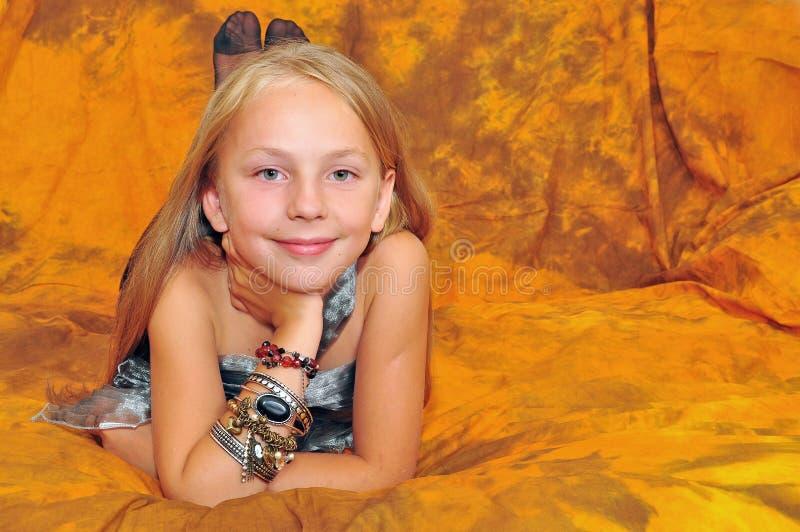 Κορίτσι μόδας στοκ φωτογραφίες