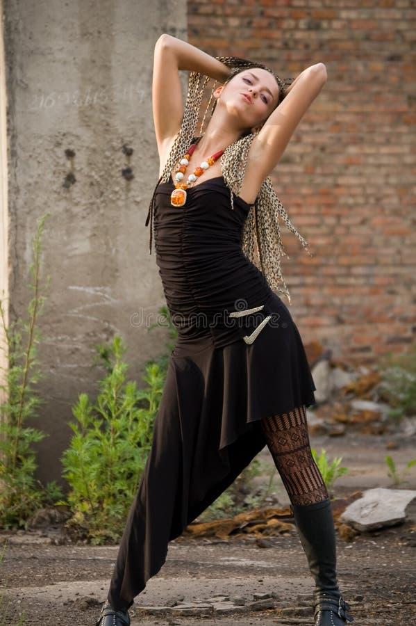 κορίτσι μόδας στοκ εικόνα