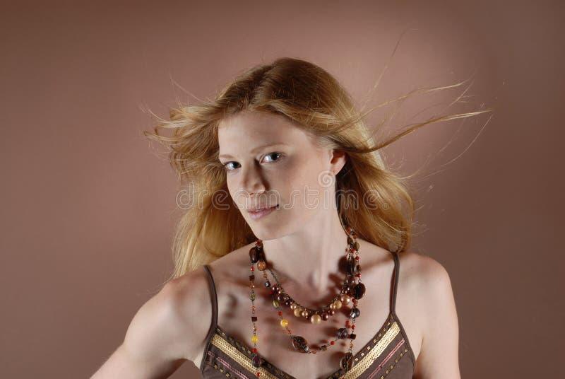 κορίτσι μόδας naturell στοκ φωτογραφίες