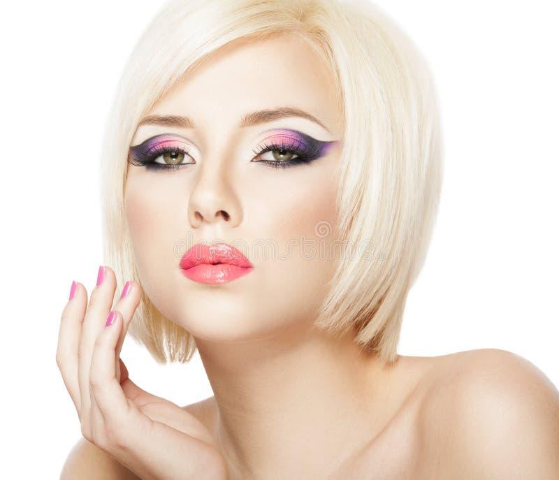Κορίτσι ξανθών μαλλιών στοκ φωτογραφίες με δικαίωμα ελεύθερης χρήσης