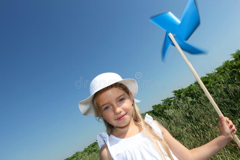 κορίτσι οικολογίας λίγ& στοκ φωτογραφία