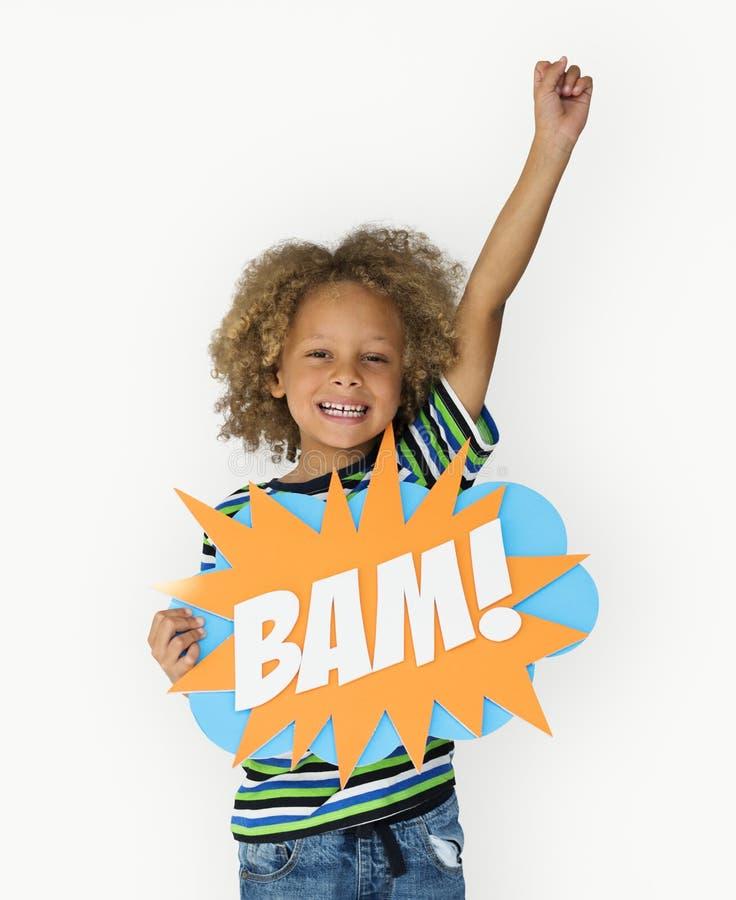 Κορίτσι παιδικής ηλικίας βλαστών παιδιών ανθρώπων στούντιο στοκ φωτογραφία με δικαίωμα ελεύθερης χρήσης