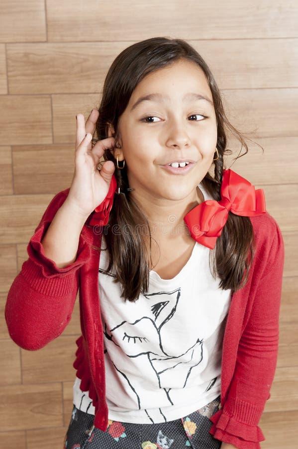 κορίτσι παιδιών ευτυχές στοκ φωτογραφία με δικαίωμα ελεύθερης χρήσης