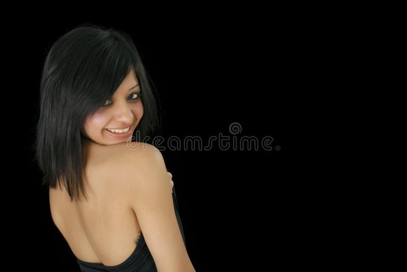 κορίτσι πανέμορφος Ινδός στοκ φωτογραφίες με δικαίωμα ελεύθερης χρήσης