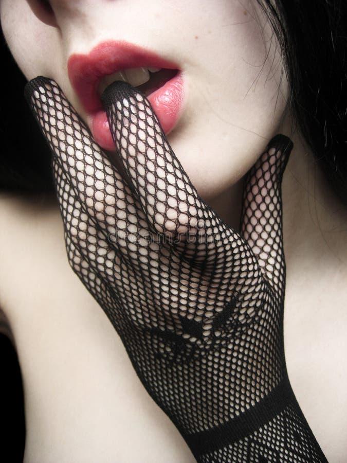 Download κορίτσι προκλητικό στοκ εικόνα. εικόνα από makeup, μεθύστακας - 395299