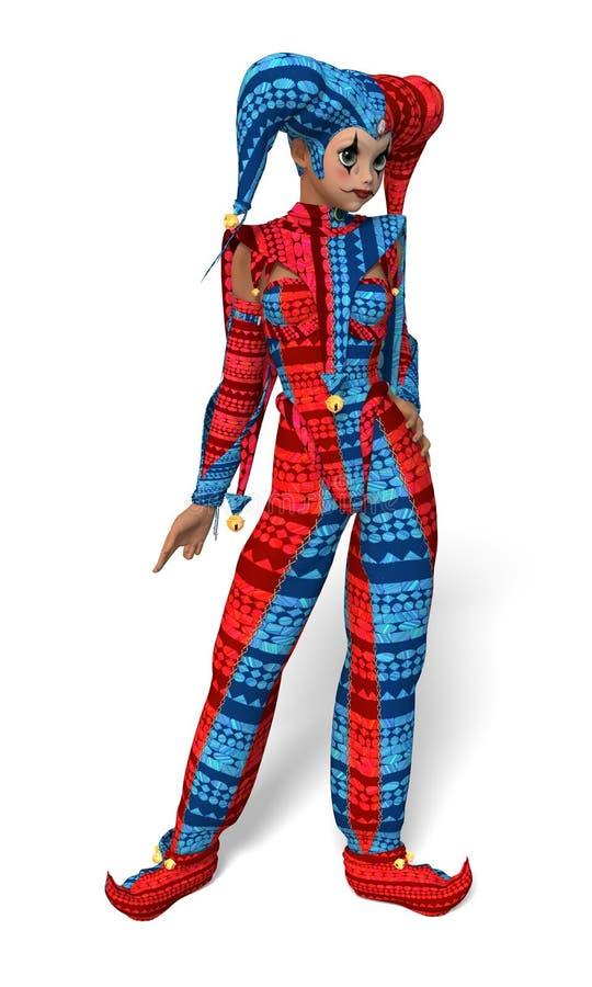 Κορίτσι πλακατζών διανυσματική απεικόνιση
