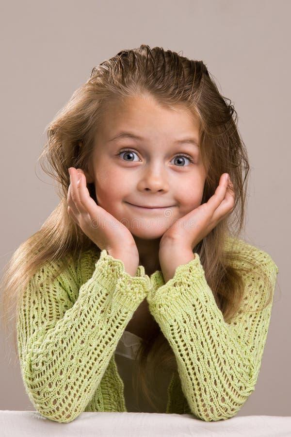 κορίτσι ράβδων στοκ εικόνα με δικαίωμα ελεύθερης χρήσης