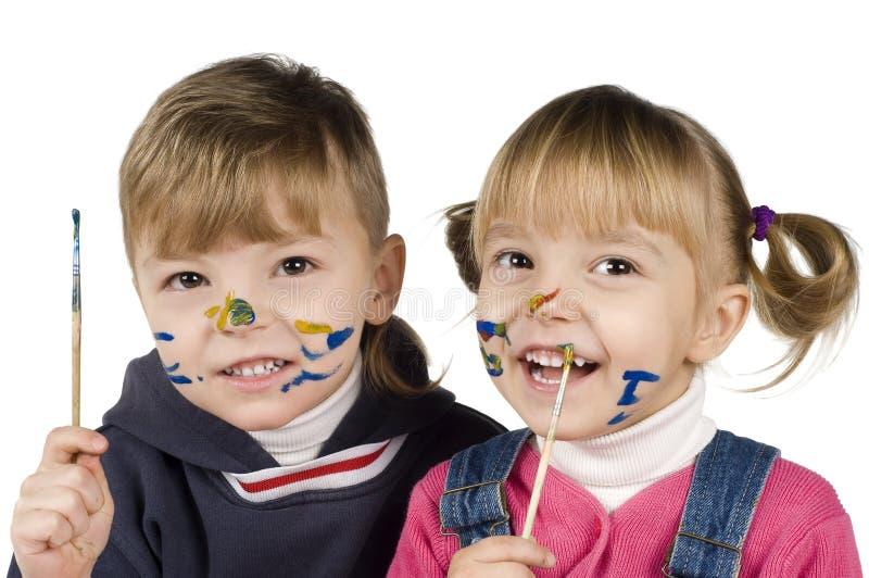 Download κορίτσι σχεδίων αγοριών στοκ εικόνα. εικόνα από μάθημα - 13178925