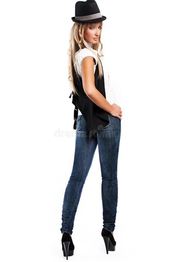 κορίτσι σύγχρονο στοκ φωτογραφία με δικαίωμα ελεύθερης χρήσης