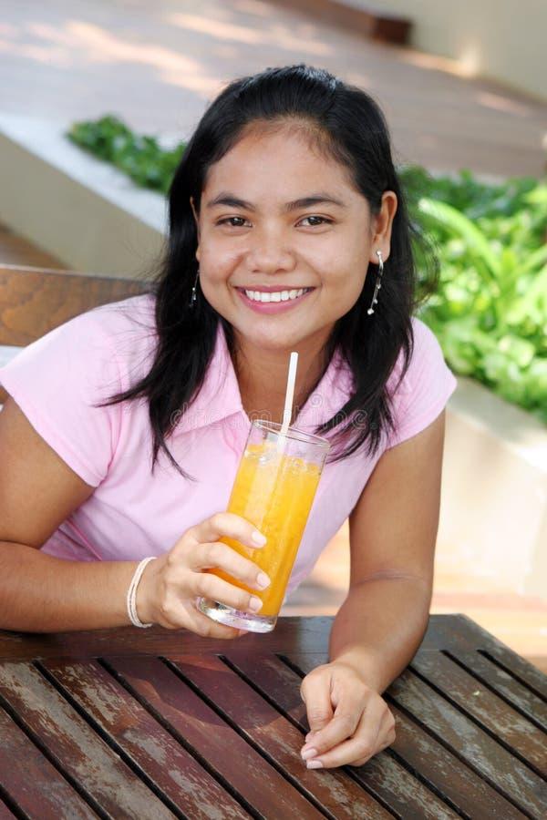 κορίτσι Ταϊλανδός στοκ φωτογραφία με δικαίωμα ελεύθερης χρήσης