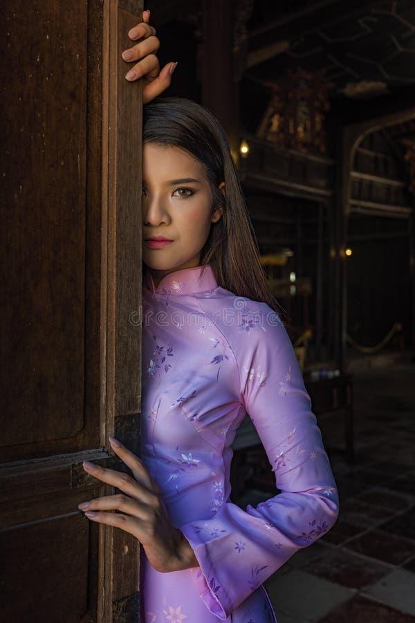 Κορίτσι του Βιετνάμ στοκ φωτογραφία