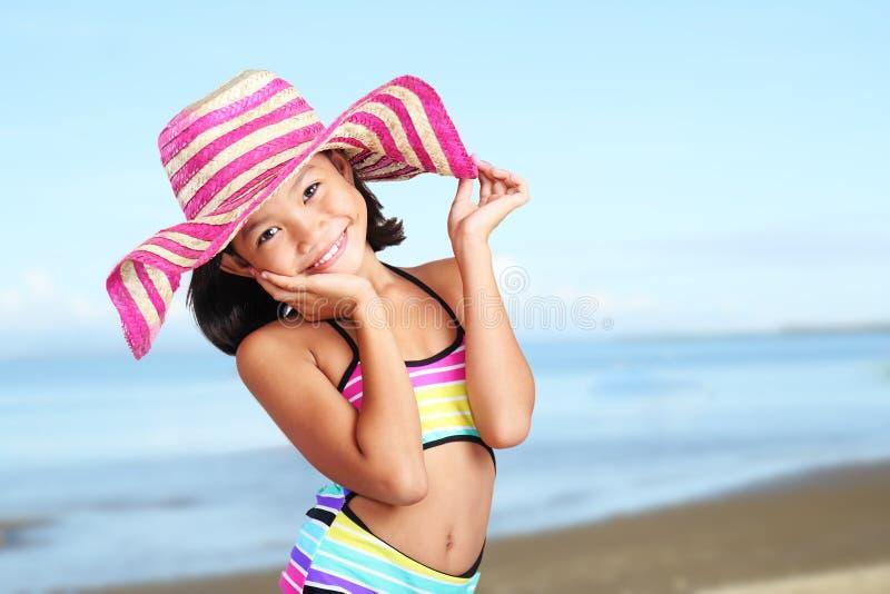 Κορίτσι το καλοκαίρι στοκ εικόνες με δικαίωμα ελεύθερης χρήσης