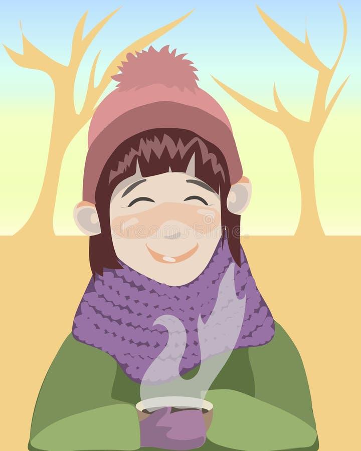 Κορίτσι φθινοπώρου στοκ φωτογραφία με δικαίωμα ελεύθερης χρήσης