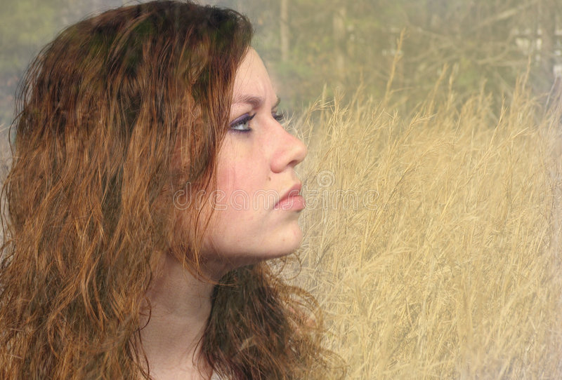 κορίτσι φυσικό στοκ φωτογραφία με δικαίωμα ελεύθερης χρήσης