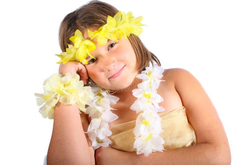κορίτσι Χαβάη στοκ φωτογραφίες με δικαίωμα ελεύθερης χρήσης