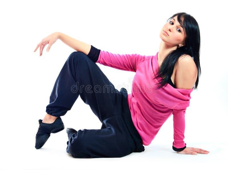 Download κορίτσι χορευτών στοκ εικόνα. εικόνα από εύθυμος, μοιχαλίδα - 13175069
