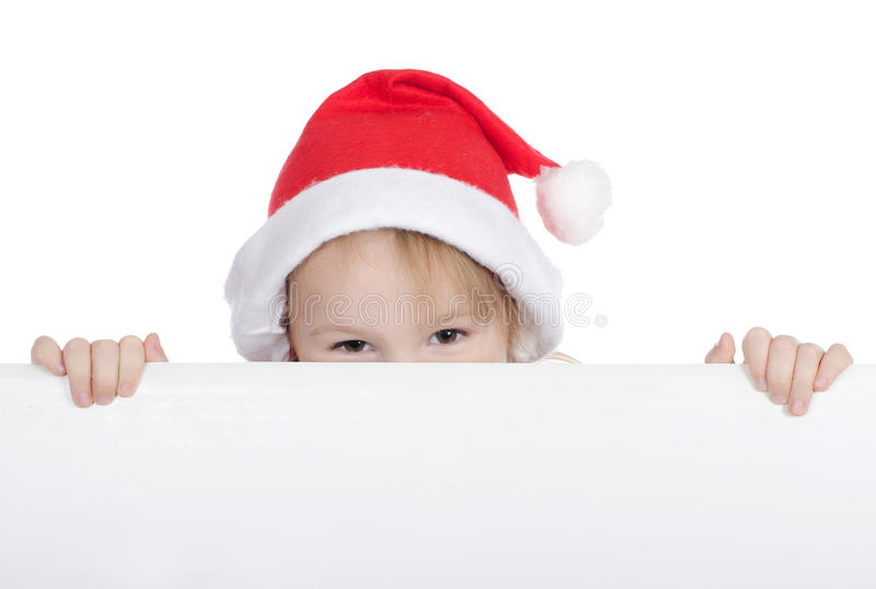 κορίτσι Χριστουγέννων λί&gamma στοκ εικόνες με δικαίωμα ελεύθερης χρήσης