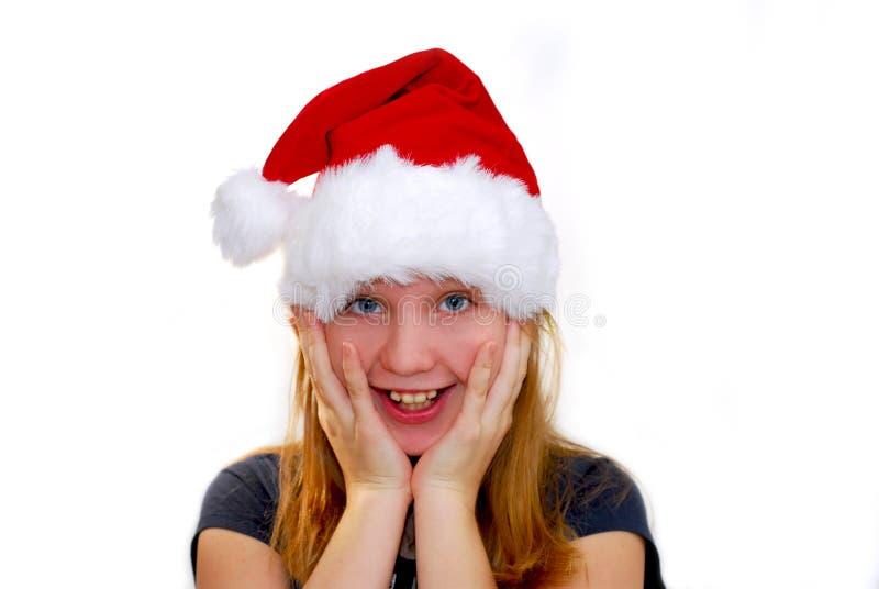 Download κορίτσι Χριστουγέννων στοκ εικόνες. εικόνα από εορτασμός - 1535256
