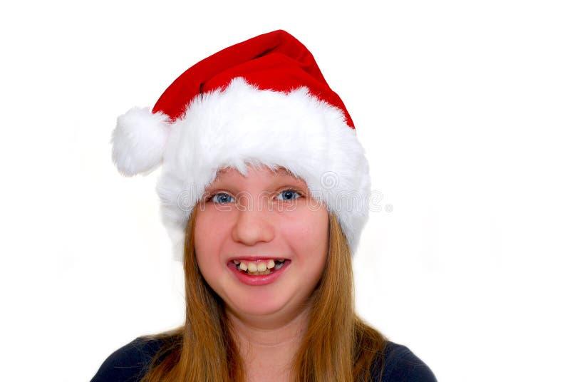 Download κορίτσι Χριστουγέννων στοκ εικόνα. εικόνα από πρόσωπο - 1546241
