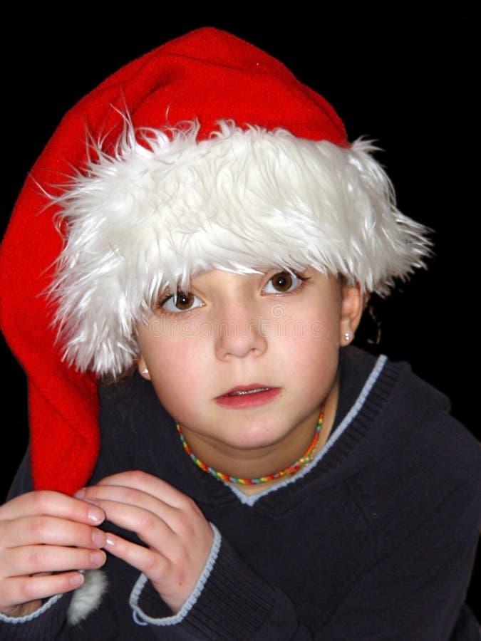 κορίτσι Χριστουγέννων στοκ εικόνες με δικαίωμα ελεύθερης χρήσης