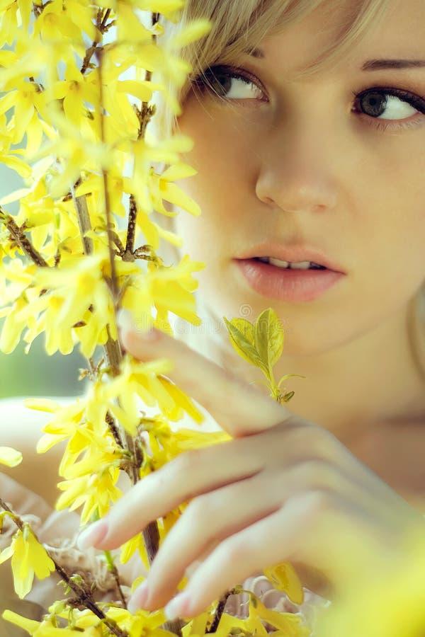 κορίτσι χρωμάτων στοκ εικόνες με δικαίωμα ελεύθερης χρήσης