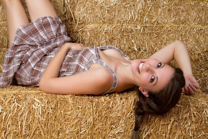 κορίτσι χωρών όμορφο στοκ εικόνες με δικαίωμα ελεύθερης χρήσης