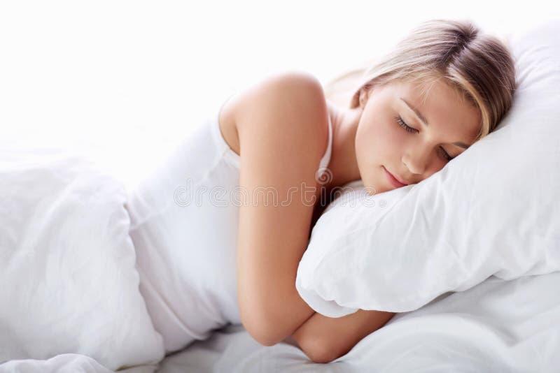 Κορίτσι ύπνου στοκ εικόνες με δικαίωμα ελεύθερης χρήσης