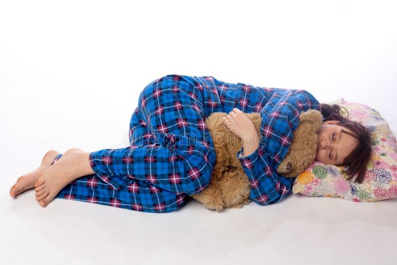 Κορίτσι ύπνου στοκ φωτογραφία με δικαίωμα ελεύθερης χρήσης