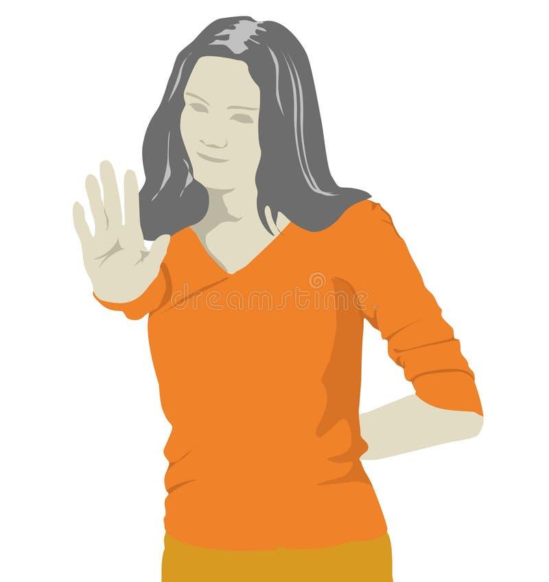 κορίτσι απεικόνιση αποθεμάτων
