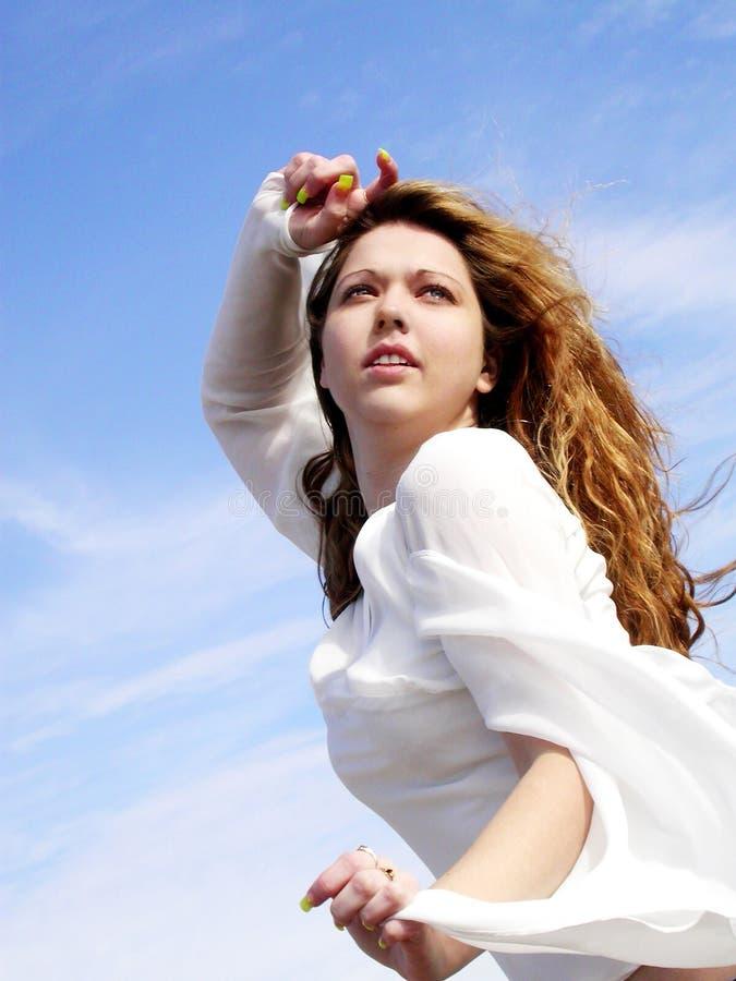 κορίτσι botticelli 5 στοκ φωτογραφία με δικαίωμα ελεύθερης χρήσης