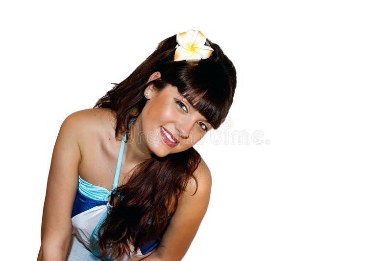 κορίτσι brunette στοκ φωτογραφία