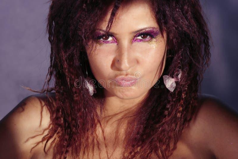 Κορίτσι Disco στοκ φωτογραφία