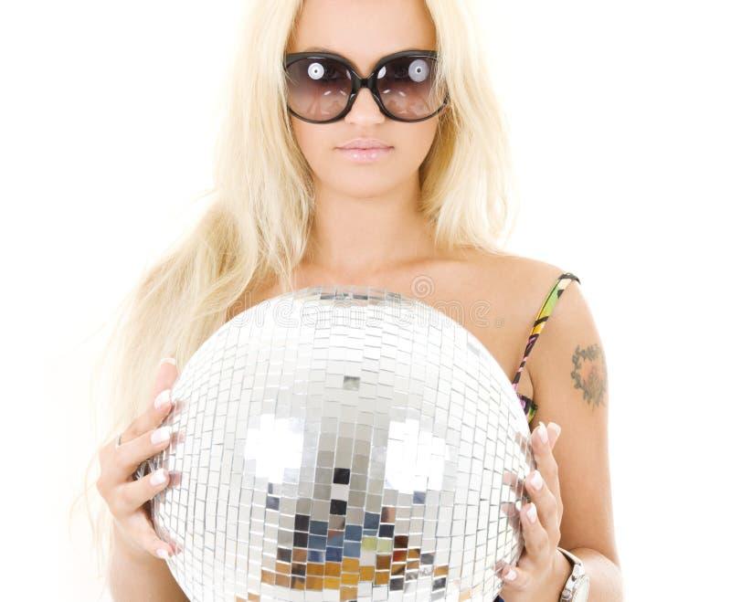 κορίτσι disco στοκ εικόνες με δικαίωμα ελεύθερης χρήσης