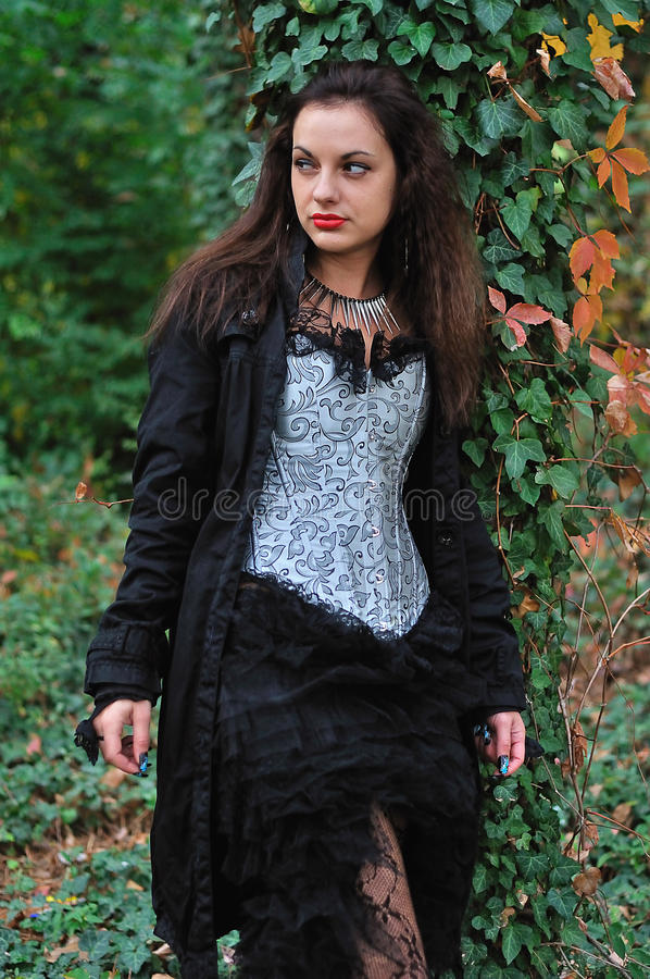 Κορίτσι Goth στοκ εικόνα με δικαίωμα ελεύθερης χρήσης