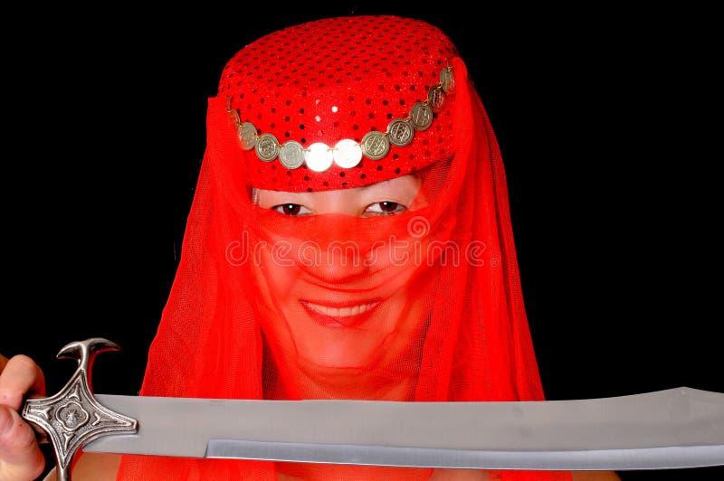 κορίτσι harem στοκ φωτογραφίες με δικαίωμα ελεύθερης χρήσης