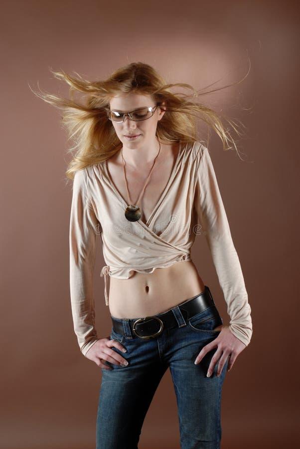 κορίτσι IV μόδας στοκ εικόνες