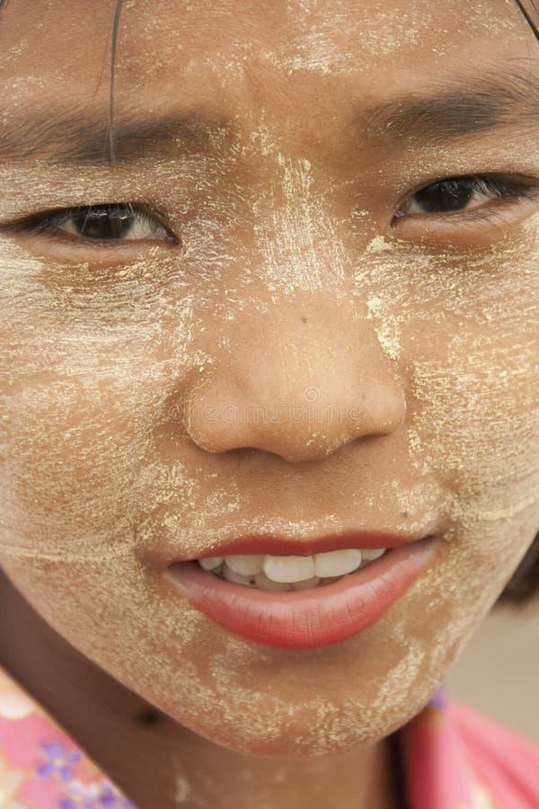 κορίτσι Myanmar στοκ εικόνες