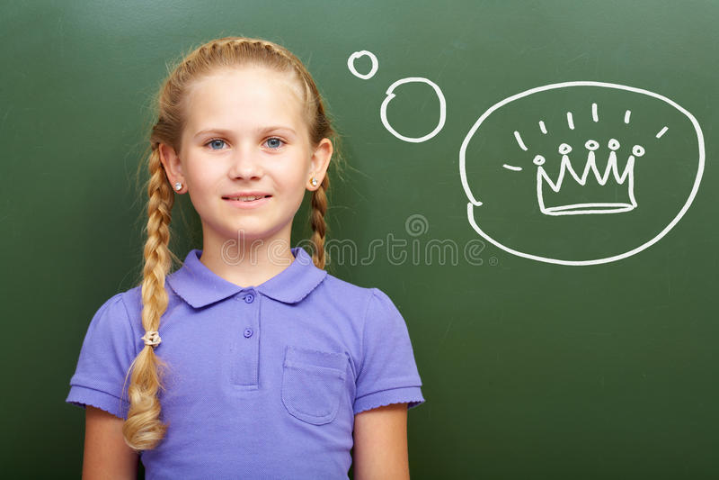 κορίτσι s ονείρου στοκ εικόνα