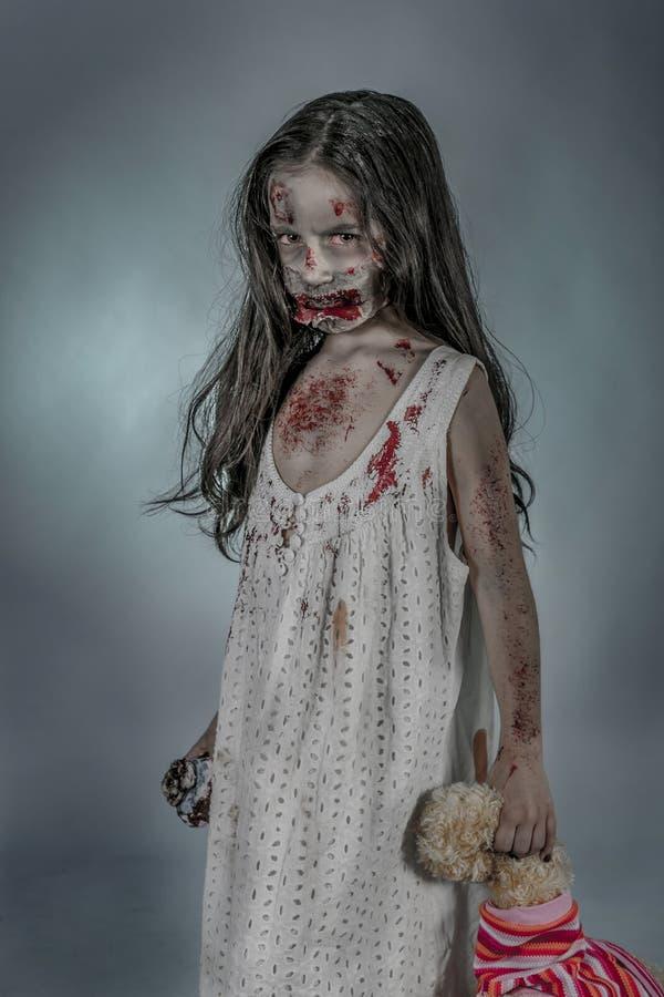 Κορίτσι Zombie στοκ φωτογραφία με δικαίωμα ελεύθερης χρήσης