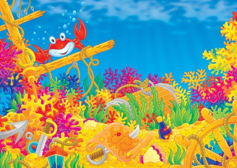 κοραλλιογενής ύφαλος ελεύθερη απεικόνιση δικαιώματος