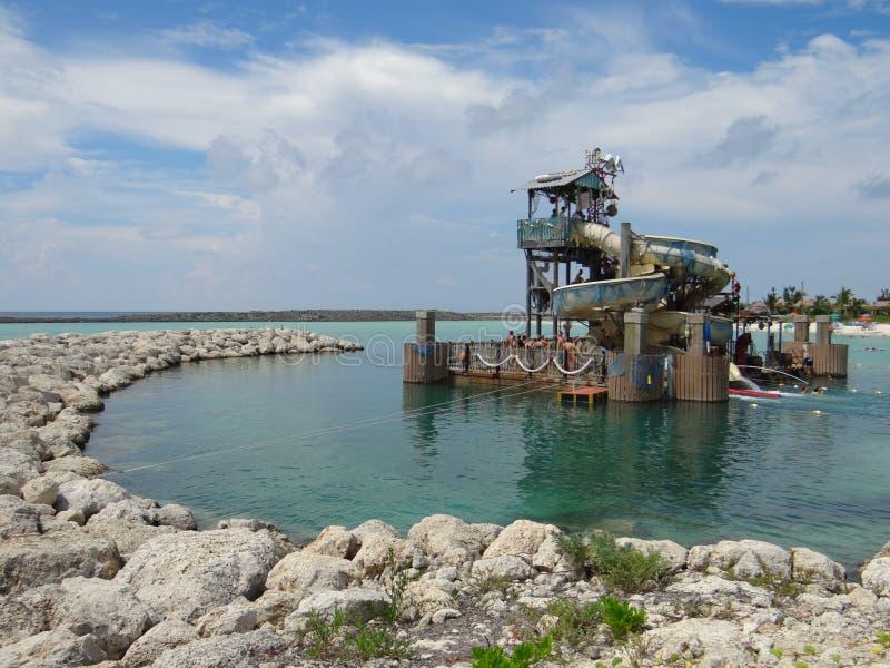 Κοραλλιογενής νήσος ναυαγών - ιδιωτικό νησί της Disney στοκ φωτογραφία με δικαίωμα ελεύθερης χρήσης