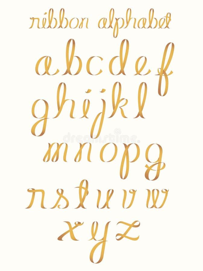 κορδέλλα αλφάβητου ελεύθερη απεικόνιση δικαιώματος