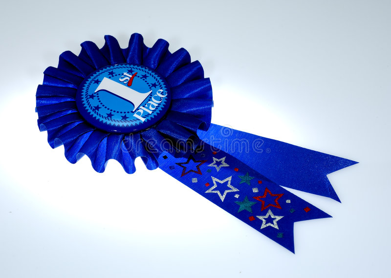 κορδέλλα βραβείων στοκ εικόνα με δικαίωμα ελεύθερης χρήσης