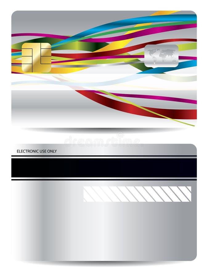κορδέλλα πιστωτικού σχ&epsilo διανυσματική απεικόνιση