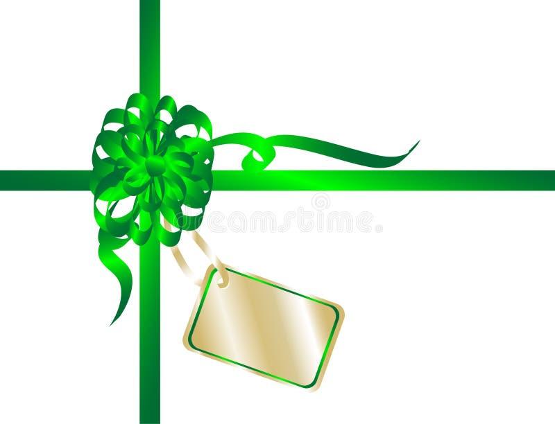κορδέλλα Χριστουγέννων απεικόνιση αποθεμάτων