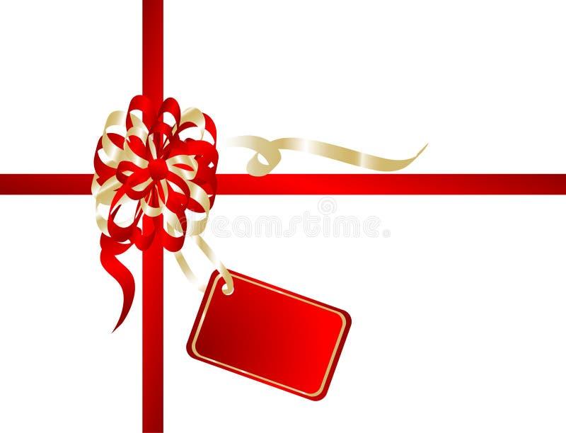 κορδέλλα Χριστουγέννων ελεύθερη απεικόνιση δικαιώματος