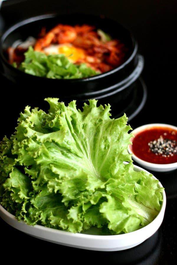 Κορεατικά τρόφιμα στοκ εικόνες
