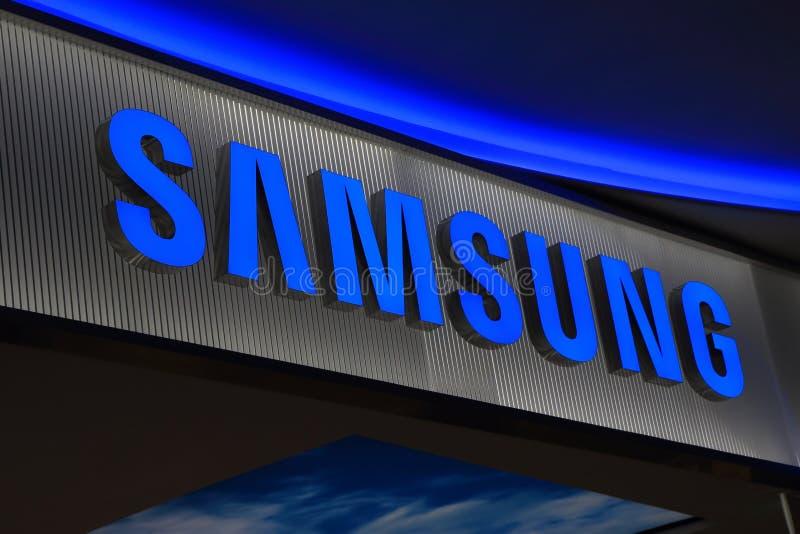 Κορεατική ηλεκτρονική της Samsung στοκ φωτογραφία